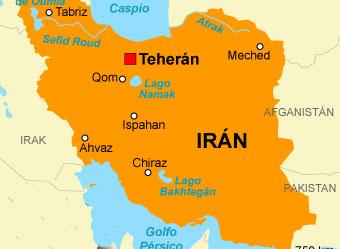 Resultado de imagen de mapa politico de iran