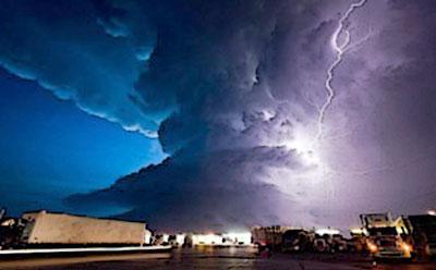 América del Norte: ¿Podría el cambio climático causar más (y más grandes) Tornados? 11