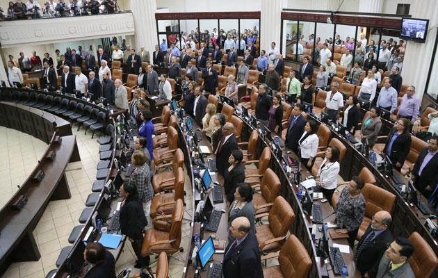 leyes por aprobar en la asamblea nacional: