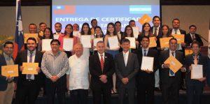 Foto - Entrega de Certificados - Becas Taiwan 1