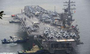 Portaviones USS Ronald Reagan.