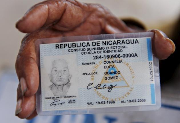 Aprueban extender la vigencia de las cédulas de los nicaragüenses