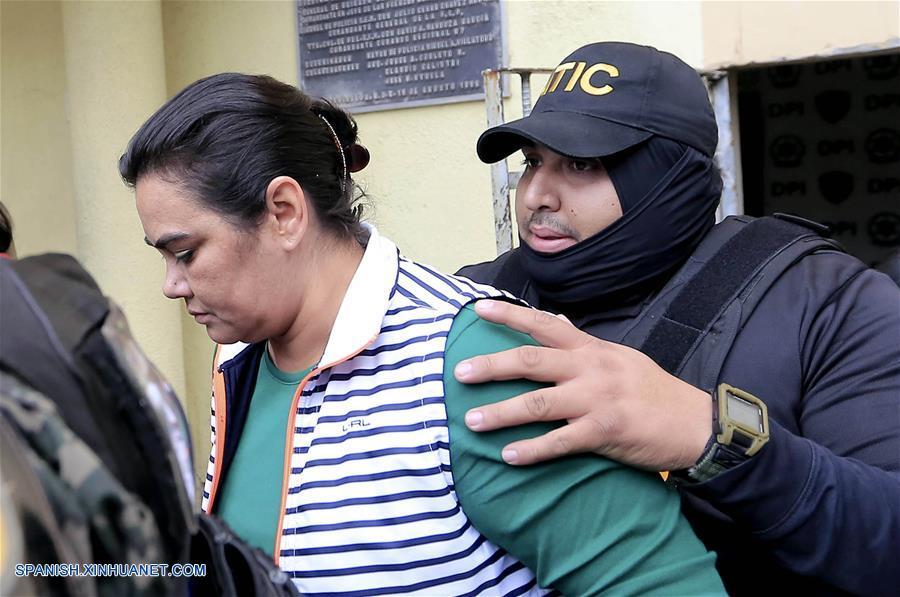 Detienen esposa expresidente Porfirio Lobo por corrupción — HONDURAS