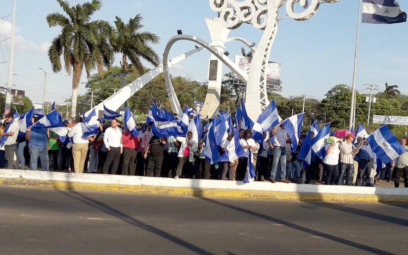 Nueva represión a estudiantes nicaragüenses dejó al menos seis heridos