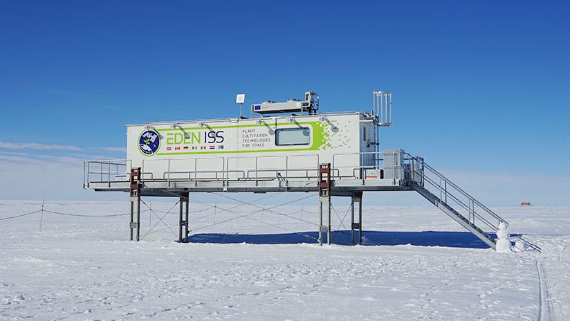 La base alemana Neumayer Station III en la Antártida. / Flickr / DLR German Aerospace Center
