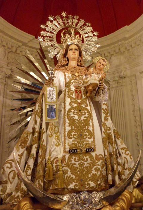 Mes de Septiembre dedicado a la Virgen de Merced en León