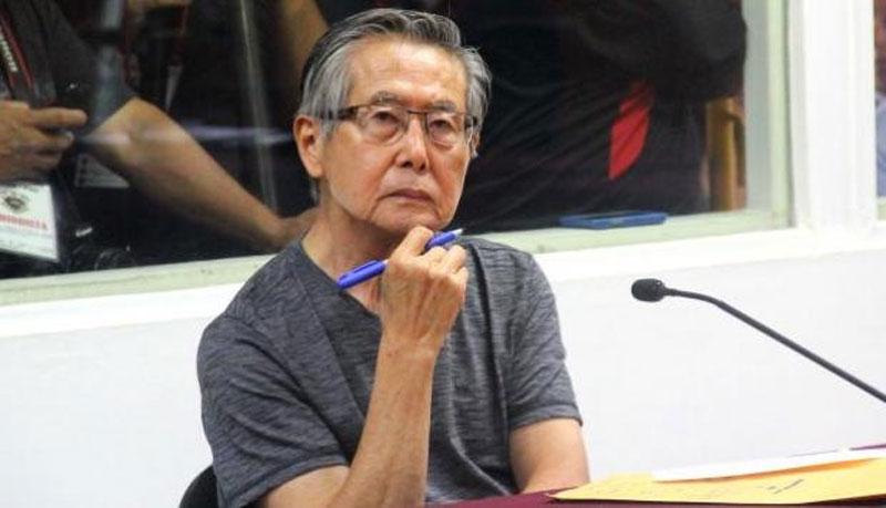 Justicia peruana rechaza que Fujimori espere en libertad su apelación