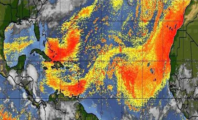 Golfo de México recibirá ola de polvo del Sahara